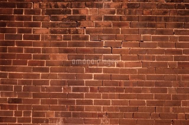 赤レンガ壁面の写真素材 [FYI01321763]