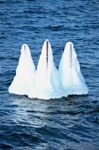 支笏湖の冬 千歳市 北海道の写真素材 [FYI01323289]