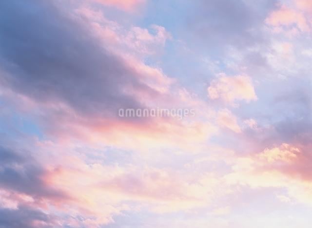 夕空の写真素材 [FYI01323329]