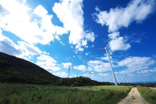 風力発電の写真素材 [FYI01323396]