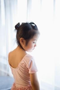 バレエ姿の女の子の写真素材 [FYI01323582]