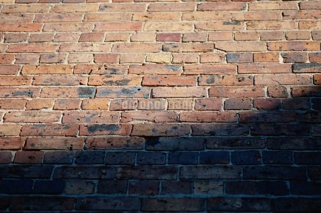 レンガ壁面 光の写真素材 [FYI01324323]