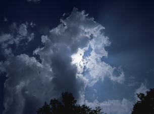 雷雲の写真素材 [FYI01324537]