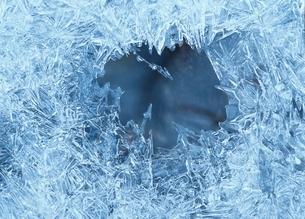 冬の渓流 茨城県の写真素材 [FYI01325081]