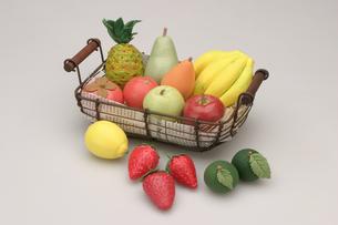果物のバスケットの写真素材 [FYI01325266]