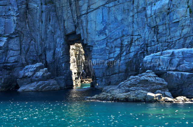 蘇洞門の大門・小門の写真素材 [FYI01325790]