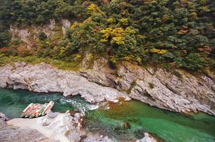 大歩危峡の写真素材 [FYI01325859]