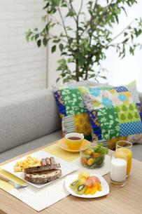 朝食イメージの写真素材 [FYI01326410]