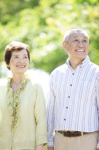 笑顔のシニア夫婦の写真素材 [FYI01326981]