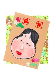 福笑いの写真素材 [FYI01326987]