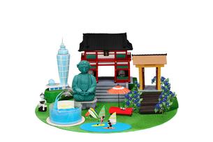 観光地クラフト 鎌倉・江の島の写真素材 [FYI01327821]