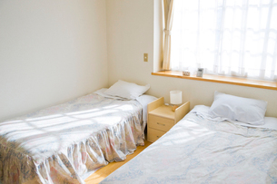 ベッドルームの写真素材 [FYI01328542]