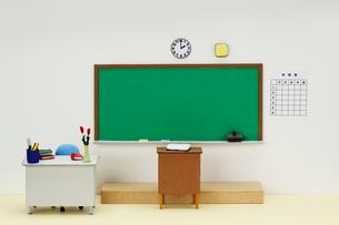 小学校の教室の写真素材 [FYI01328580]