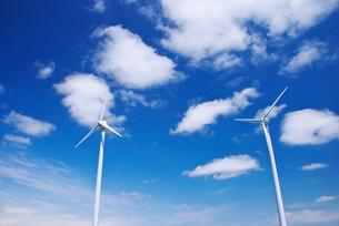 風力発電の写真素材 [FYI01330384]