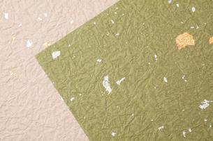 金箔の入った和紙の写真素材 [FYI01330661]