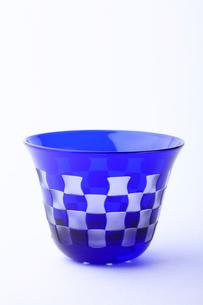 江戸切り子ガラスの写真素材 [FYI01330686]