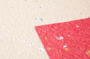 金箔の入った和紙の写真素材 [FYI01330709]