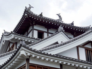 福知山城の天守閣の写真素材 [FYI01330870]