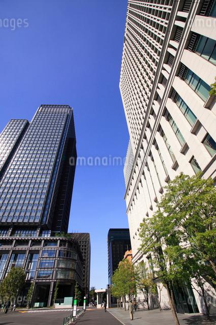 新丸ビルと丸の内オアゾの写真素材 [FYI01332156]