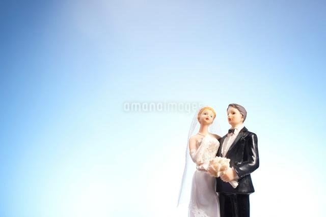 新郎新婦の人形の写真素材 [FYI01333215]