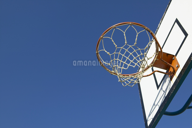 バスケットゴールの写真素材 [FYI01333655]