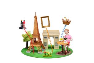 フランス パリ 観光地とご当地名産の写真素材 [FYI01333986]