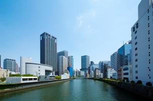 大阪中之島の都市風景の写真素材 [FYI01334744]