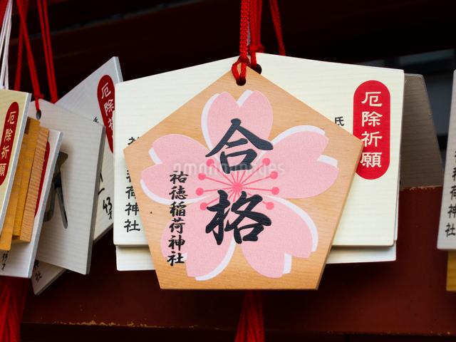 祐徳稲荷神社の合格絵馬の写真素材 [FYI01335453]