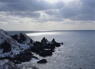 冬の海岸の写真素材 [FYI01335868]