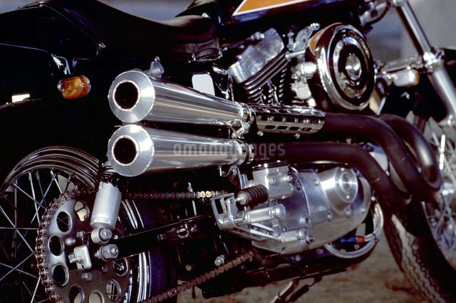 大型バイクの写真素材 [FYI01336105]