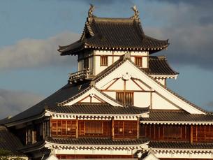 福知山城の天守閣の写真素材 [FYI01336708]