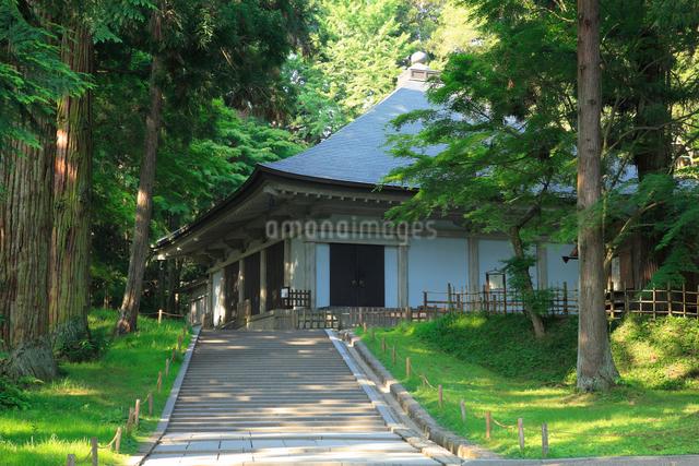 奥の細道中尊寺金色堂の写真素材 [FYI01339760]