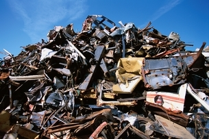 産業 廃棄物の写真素材 [FYI01340112]