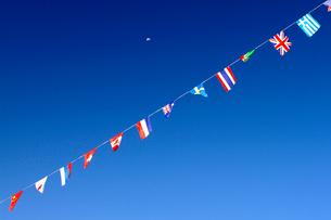 いろいろな国旗の写真素材 [FYI01341032]