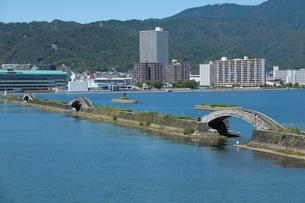 湖上からの大津港の写真素材 [FYI01341891]