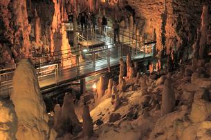 玉泉洞の鍾乳石の写真素材 [FYI01342289]