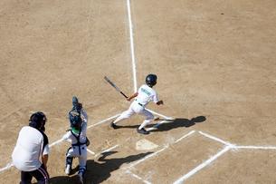 少年野球バッターの写真素材 [FYI01343066]