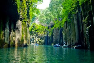 高千穂峡 真名井の滝の写真素材 [FYI01343393]