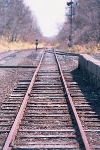線路イメージの写真素材 [FYI01343404]