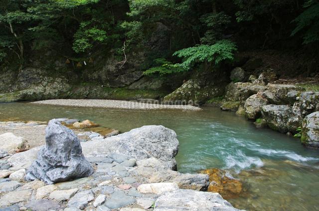 鵜の瀬と遠敷川の写真素材 [FYI01344071]