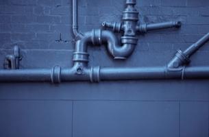 水道管の写真素材 [FYI01345072]