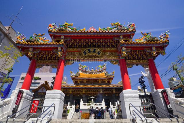 関帝廟の写真素材 [FYI01345583]