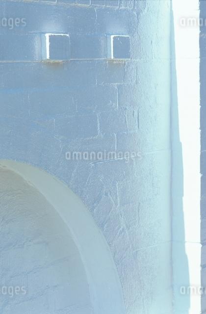 レンガ建物 光の写真素材 [FYI01347471]