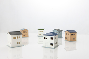 住宅模型の写真素材 [FYI01348827]