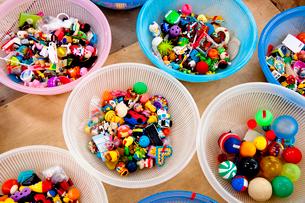 プラスチックのおもちゃの写真素材 [FYI01350385]