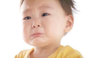 泣く赤ちゃんの写真素材 [FYI01350638]