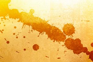 金箔と墨の柄素材の写真素材 [FYI01350727]