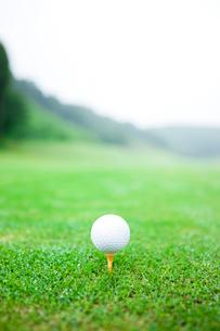 ゴルフボールの写真素材 [FYI01351254]