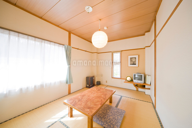 旅館の客室の写真素材 [FYI01351568]