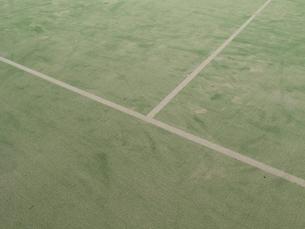 テニスコートの写真素材 [FYI01352186]